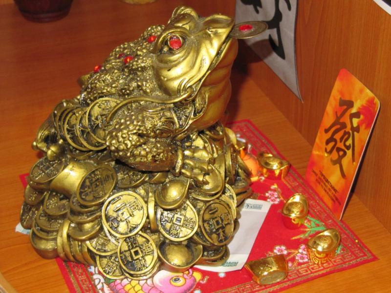Çince paralar, evdeki feng shui ve servet