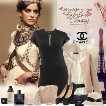5dc343bde ومع ذلك، منذ أيام المصمم الشهير، أصبح مصطلح حقا أوسع بكثير، لأن لخزانة  الملابس الخاصة بك في نمط شانيل يمكنك اختيار فستان أسود صغير، المقابلة  لتفضيلاتك ...